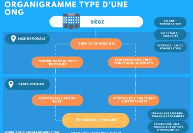 Organigramme d'une ONG